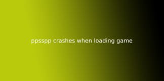 ppsspp crashes when loading game