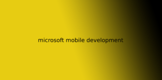 microsoft mobile development