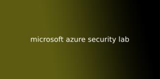 microsoft azure security lab