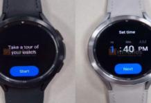 Galaxy Watch 4 Classic leak gives a tiny sneak peek of Wear OS 3
