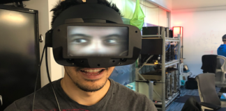 Facebook Reality Labs Present An Augmented Reality Face To Its Oculus Software
