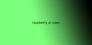 raspberry pi uses