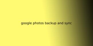 google photos backup and sync