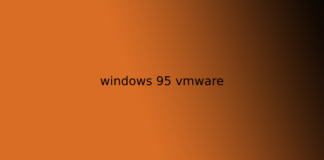 windows 95 vmware