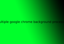 multiple google chrome background processes