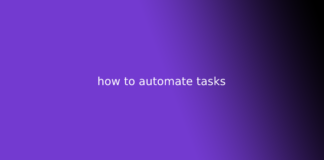 how to automate tasks