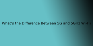 What's the Difference Between 5G and 5GHz Wi-Fi?