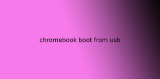 chromebook boot from usb