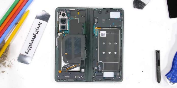 Galaxy Z Fold 3 teardown videos reveal water resistance secrets