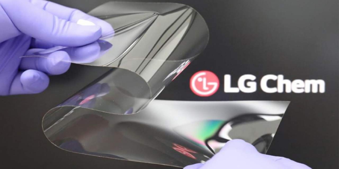 LG Real Folding Window display cover promises to make creases disappear