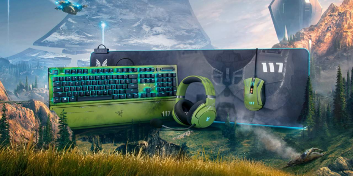 Halo Infinite edition Razer accessories make the experience official