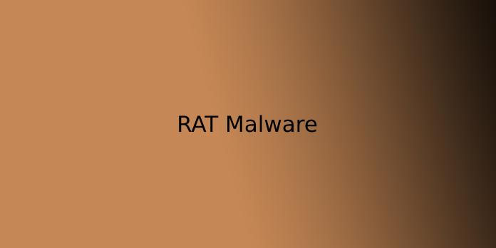 RAT Malware