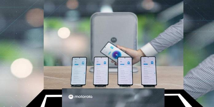 Motorola has magic air Space Charging tech, too