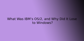 What Was IBM's OS/2, and Why Did It Lose to Windows?