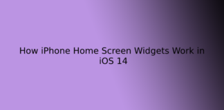How iPhone Home Screen Widgets Work in iOS 14