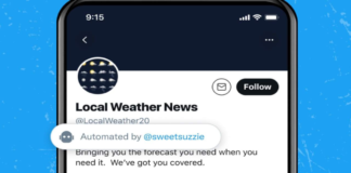 Twitter label test makes it easier to sort useful bots from spammers