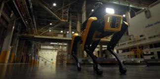 Hyundai Factory Safety Service Robot puts Spot on factory patrol