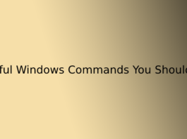 15 Useful Windows Commands You Should Know