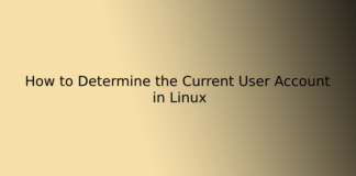 How to Determine the Current User Account in Linux