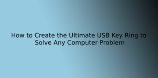 How to Create the Ultimate USB Key Ring to Solve Any Computer Problem