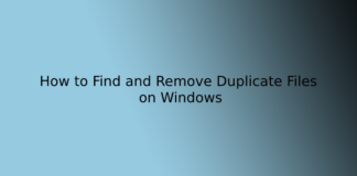 How to Find and Remove Duplicate Files on Windows