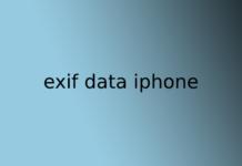 exif data iphone