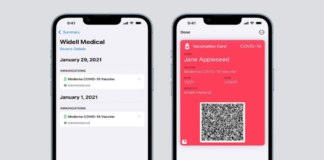 Apple Wallet will soon support verifiable COVID-19 vaccination cards
