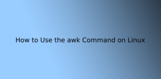 How to Use the awk Command on Linux