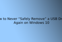 """How to Never """"Safely Remove"""" a USB Drive Again on Windows 10"""