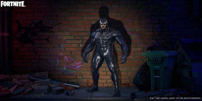 Venom arrives in Fortnite with his pal Tom Hardy