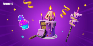 Fortnite gets cake and special rewards for its 4th birthday bash