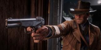 Red Dead Redemption 2 Player Sees A Bullet Ricochet Off Arthur's Gun