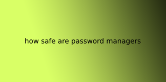 how safe are password managers