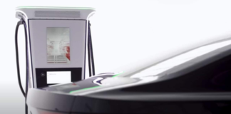 ABB Terra 360 EV charger delivers 100 kilometers of range in minutes