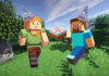Minecraft Players Ambush Friend With Surprise In-Game Birthday Party