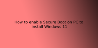 How to enable Secure Boot on PC to install Windows 11
