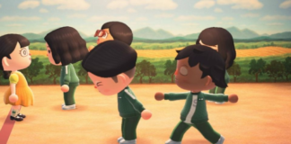 Animal Crossing Players Recreate Squid Game Episode 1 Moment