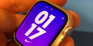 Apple Watch Series 7 photo shows Apple Watch 6 comparison