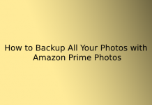 How to Backup All Your Photos with Amazon Prime Photos