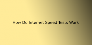 How Do Internet Speed Tests Work