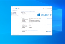 """How to Open the Classic """"System"""" Control Panel on Windows 10"""