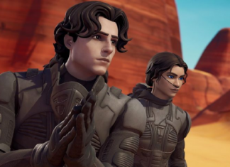 Fortnite's Dune Skins, Ornithopter Glider & More Now Available